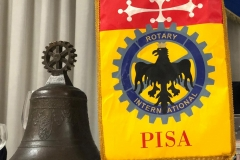 Gagliardetto Rotary Pisa